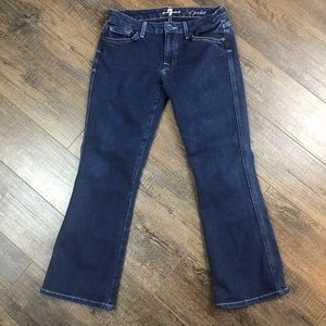 7 For All Mankind A Pocket Blue Jeans Pants 27